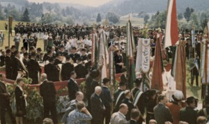 Fahnenweihe 1967