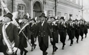 Landesschützenfest in der Stadt Salzburg